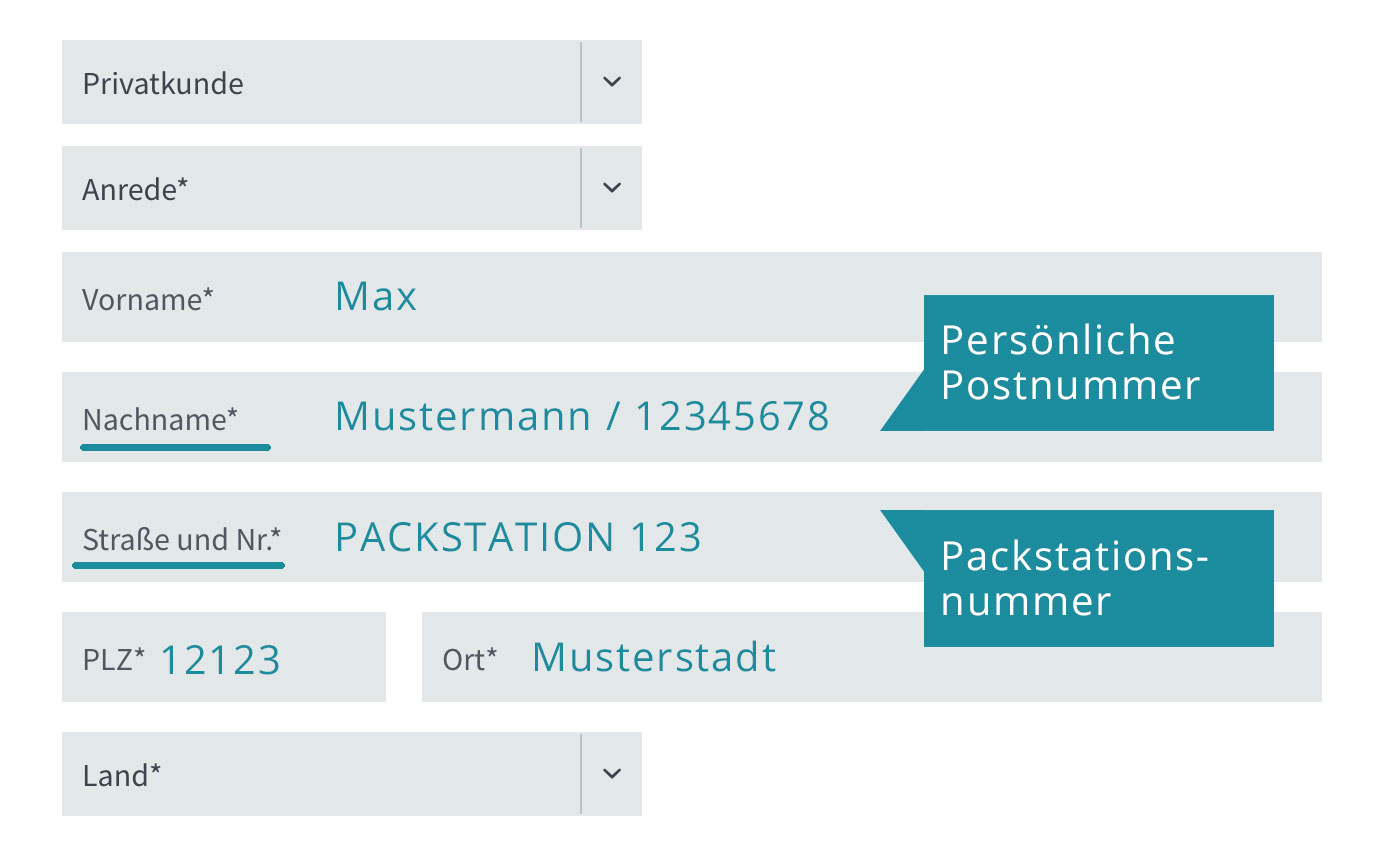 Packstation Info